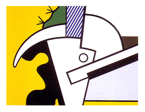 Lichtenstein BULL HEAD II