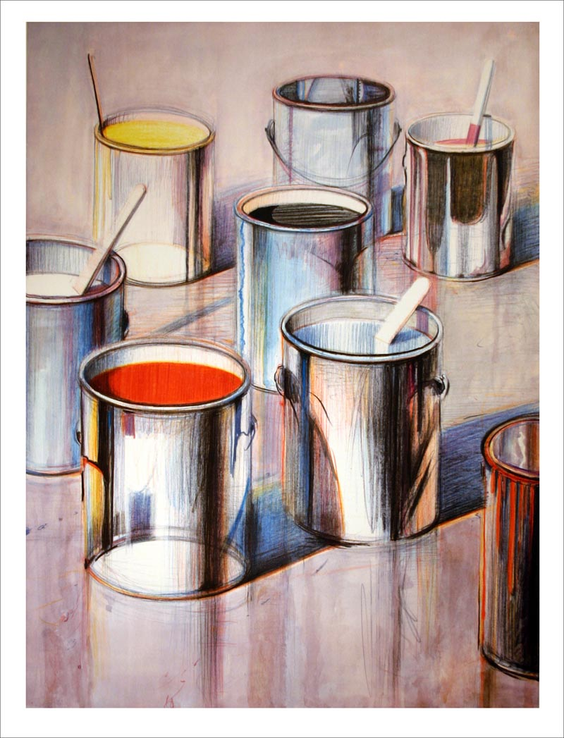 Thiebaud PAINT CANS