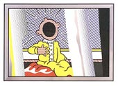 Lichtenstein REFLECTIONS ON SCREAM