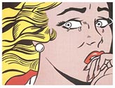 Lichtenstein CRYING GIRL